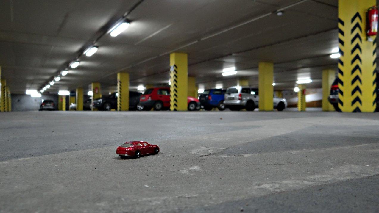Mein Porsche im Prager Underground