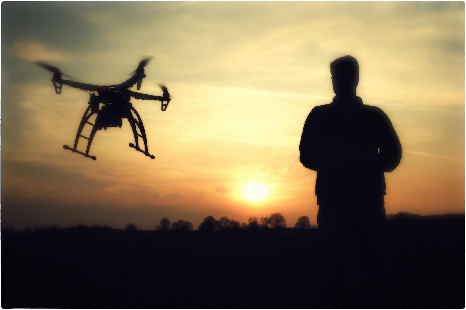 Mein Quadrocopter & ich.