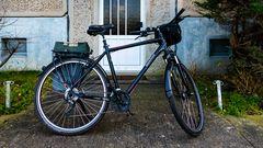 Mein Rätsel -Suchbild, was für ein Teil fehlt am Fahrrad