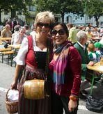 Mein Schätzchen mit Marketenderin der Stadtkapelle Litschau