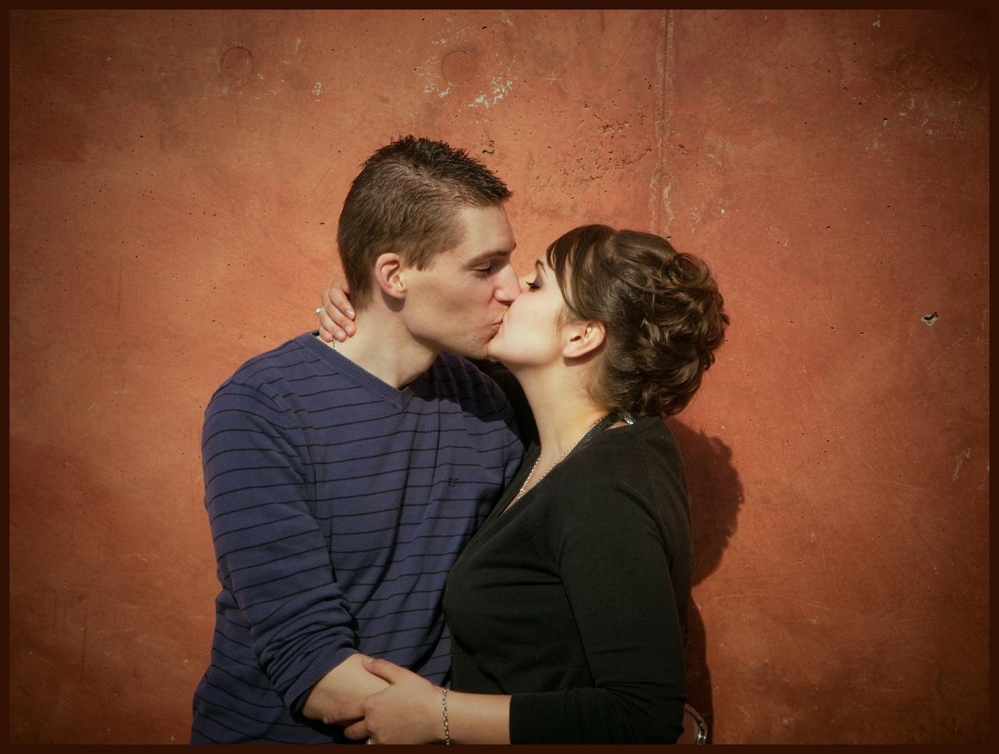 Mein Schatz: einen dicken Kuss für deinen prima Schulabschluss!