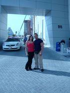 Mein Schatz und ich in Bahrain Nov.2008