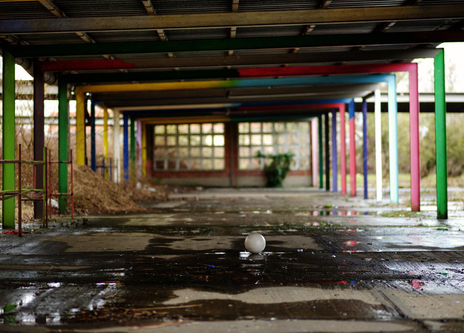 mein Schulhof...