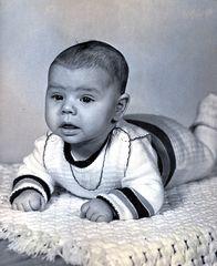 mein Sohn John mit 4 monaten ( 1982 )
