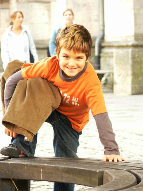 Mein Sohn posed ;)