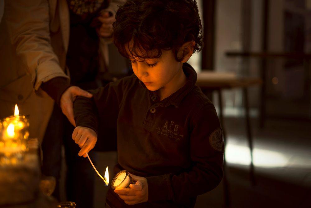 Mein Sohn und die Kerze
