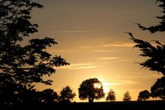 Mein Sonnenuntergang auf dem Zeteler Esch