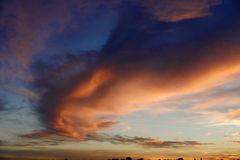 Mein Sonnenuntergang von meinem Balkon 03