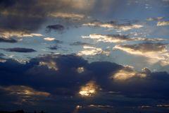 Mein Sonnenuntergang von meinem Balkon 07