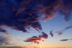 Mein Sonnenuntergang von meinem Balkon am 13.01.2015 .....
