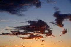 Mein Sonnenuntergang von meinem Balkon am 13.01.2015 ....