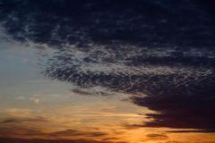 Mein Sonnenuntergang von meinem Balkon am 13.12.2014 ......