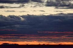 Mein Sonnenuntergang von meinem Balkon am 22.12.2014 ....