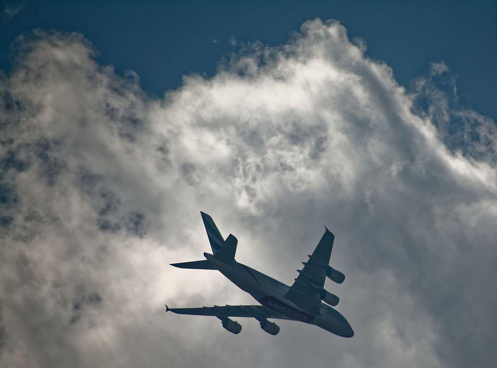 Mein täglicher Airbus A 380 - 01