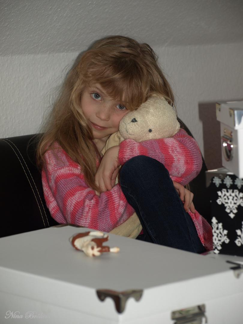 Mein Teddy.....