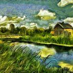 mein Traum am Fluss