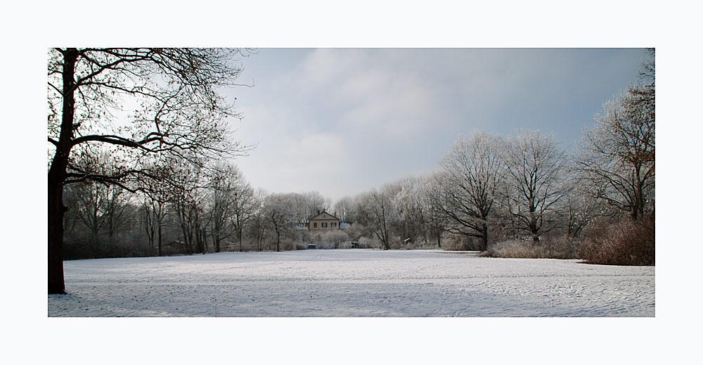 Mein Traumhaus im Winter