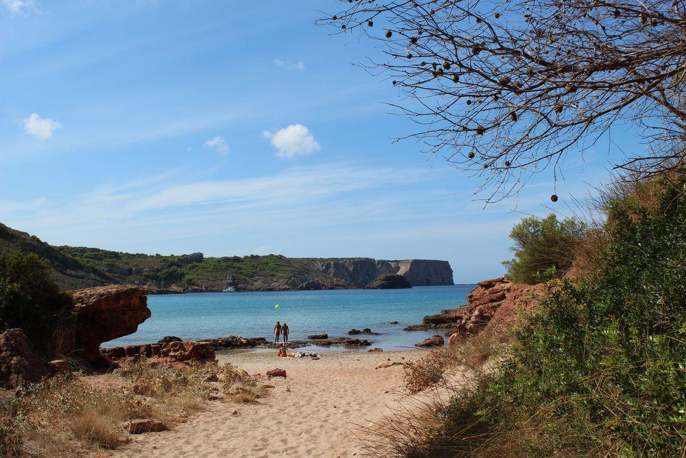 Mein Traumstrand auf Menorca