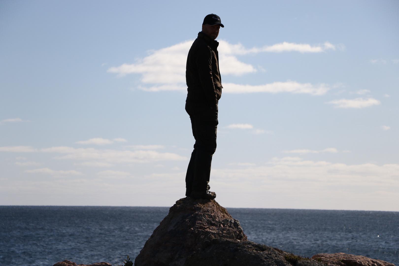 Mein Vater vor dem Atlantik