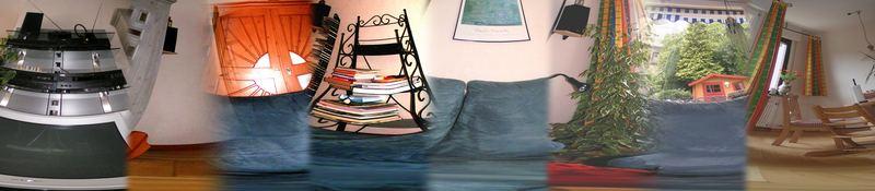 Mein Wohnzimmer - total chaotisch