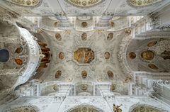 """Mein""""Blick nach oben"""" in der Klosterkirche Holzen"""