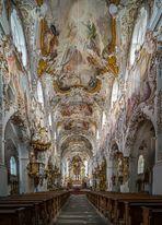 """Mein""""Blick nach Osten"""" in der Klosterkirche Mariä Geburt (Rottenbuch)"""