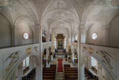 """Mein""""Blick zum Chor"""" in der Hofkirche (Neuburg an der Donau)"""