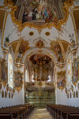 """Mein""""Blick zur Orgel"""" der Amberger Schulkirche"""
