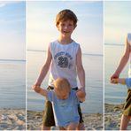 meine 2 süßen Strandmäuse...