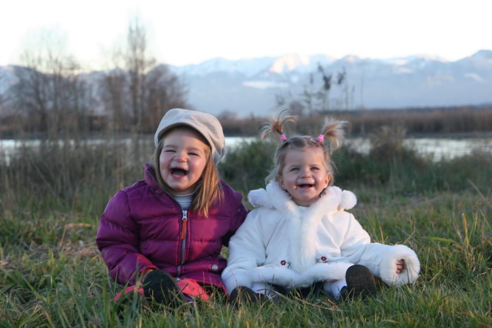 Meine 2 Töchter