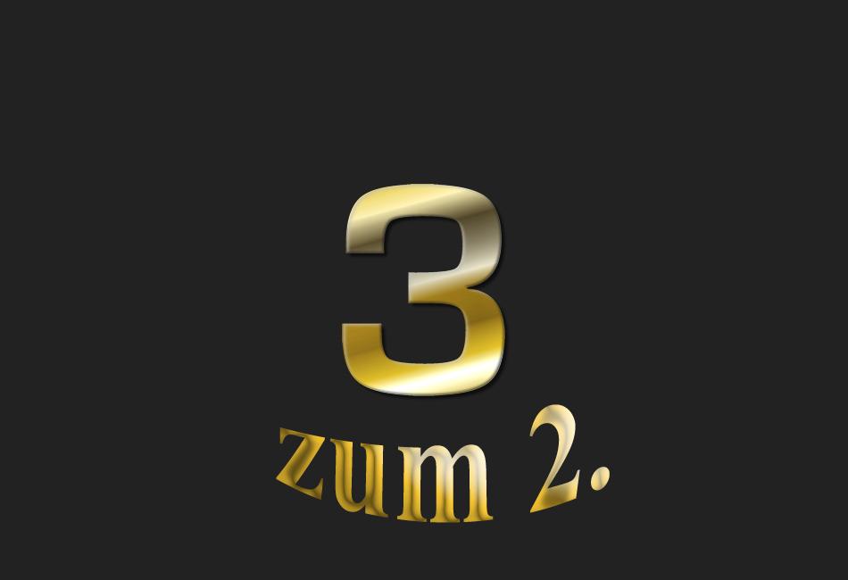 Meine 3 – zum 2.
