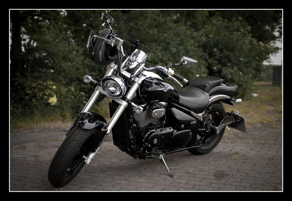 Meine Alte. Suzuki Intruder M800
