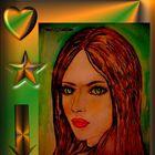 Meine Aquarelle Zeichnen in Digital Foto