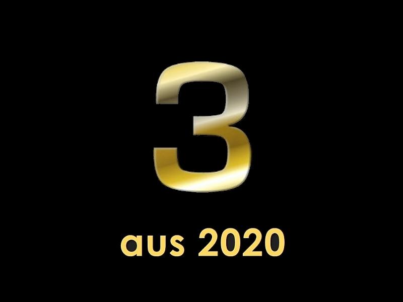 meine Drei aus 2020
