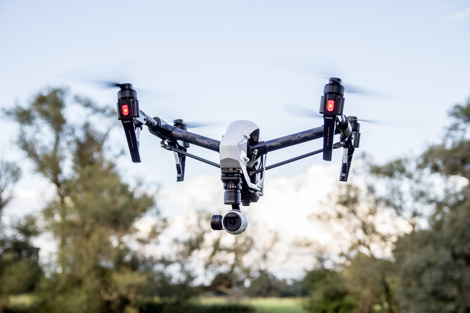 "Meine Drohne im ""Hover Mode"""