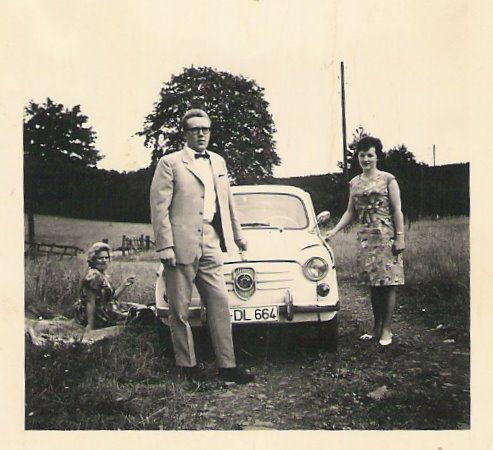 meine Eltern und ihr Auto !