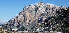 Meine erste Fahrt über den Valparolapass in den Dolomiten...
