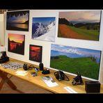meine erste mini Fotoausstellung