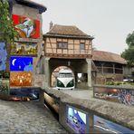 Meine erste Vernissage in Rothenburg ob der Tauber