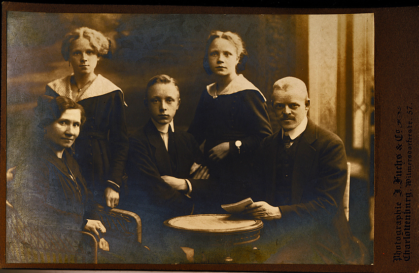 meine familie anfang 1900