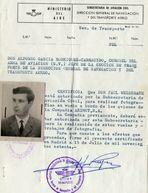 Meine Fluglizenz unter General Francos Diktatur