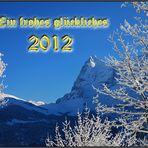Meine Glückwünsche für 2012