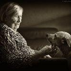 Meine Großmutter (103 J. alt) und Lewis