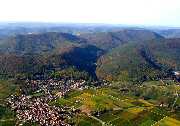 Meine Heimat aus der Luft gesehen