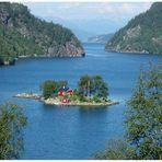 Meine Insel in Norwegen