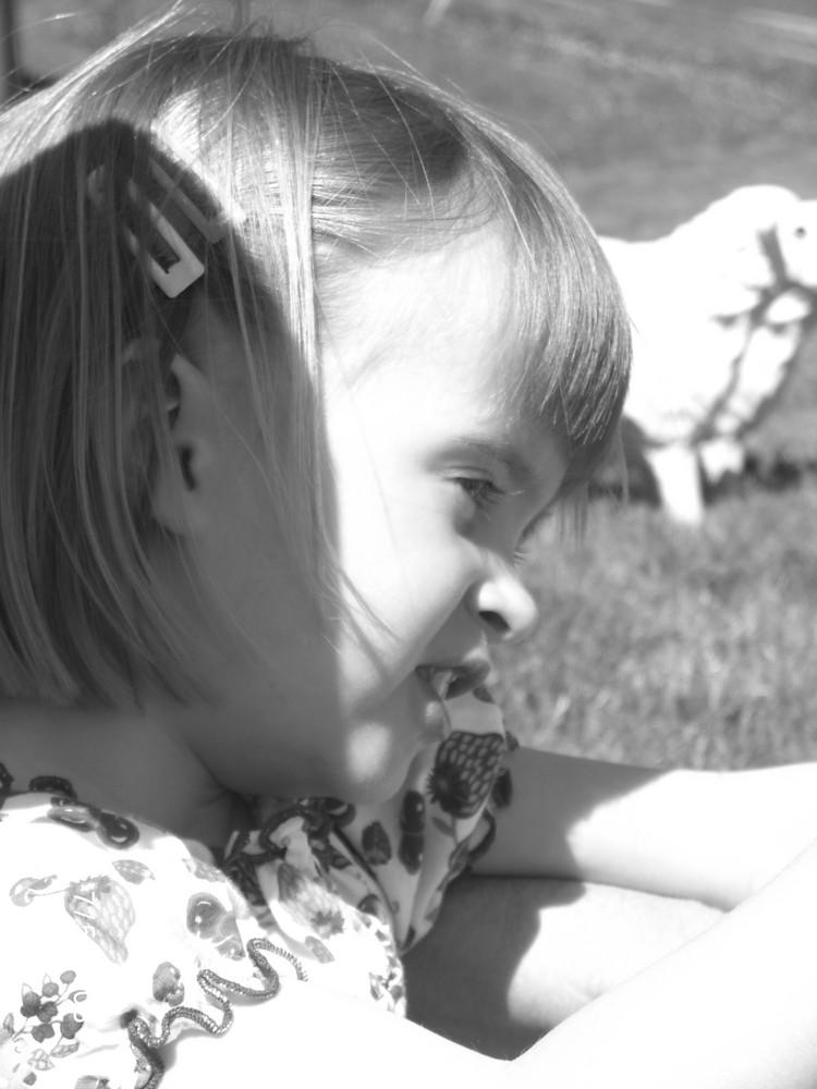 meine kleine Nichte :o)