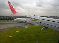 Meine Landung Flughafen Düsseldorf am 17.08.2015