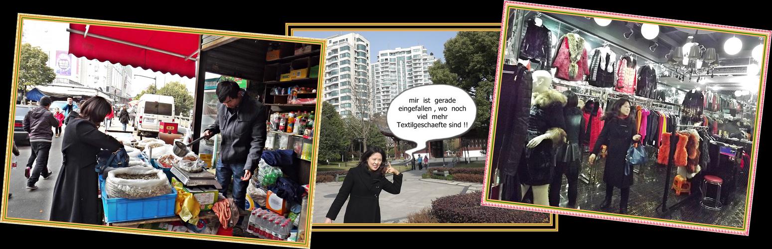 meine Li Na zum Neujahrsfest in Hang Zhou ;