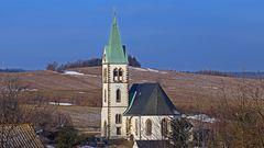 Meine Lieblingskirche in Fürstenau im Osterzgebirge ist nur noch...
