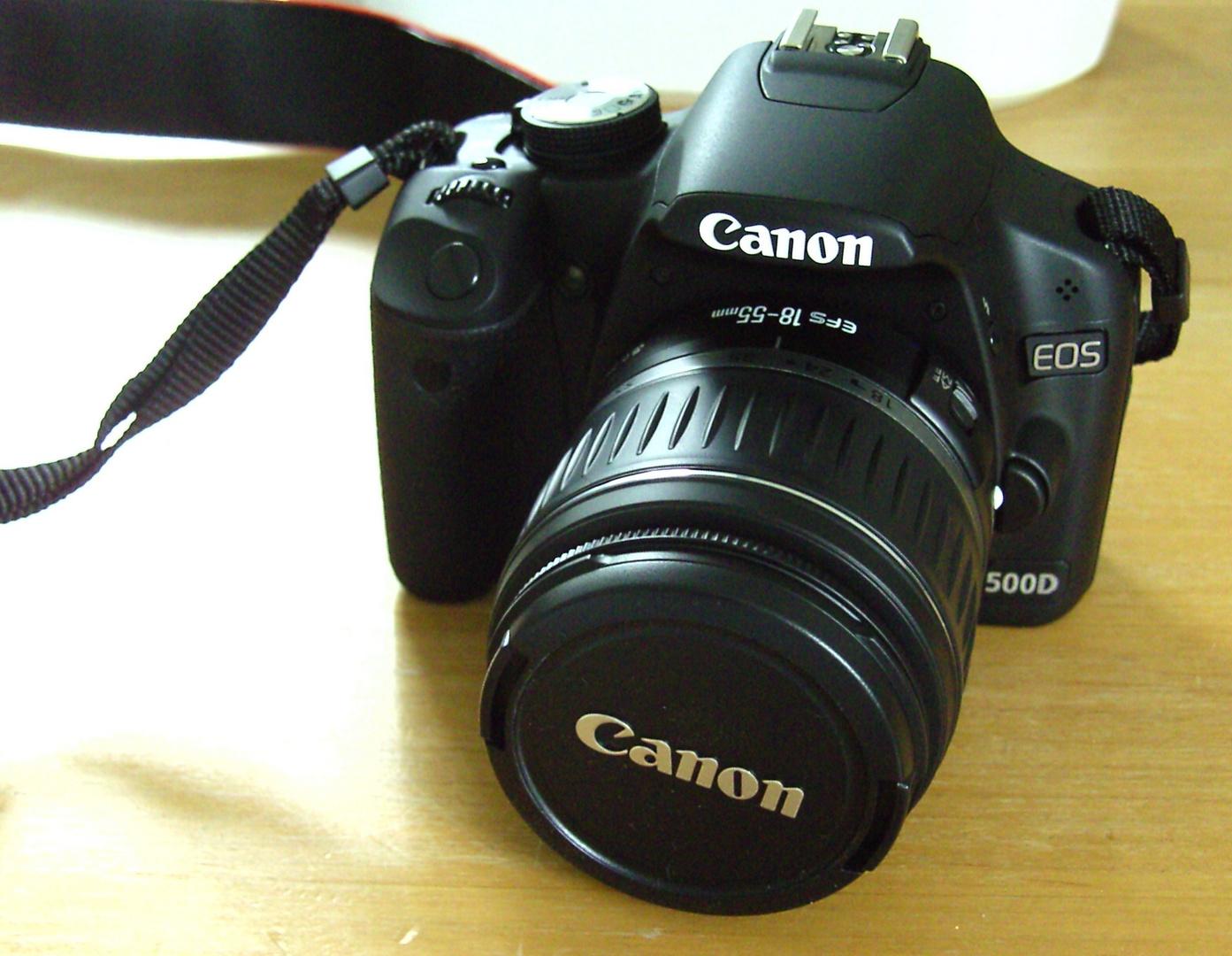 meine neue Kamera